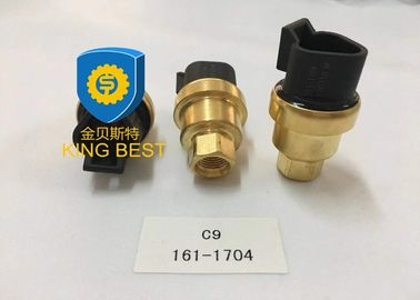 Brass Cat Excavator Parts Oil Gauge Sensor 1611704 For Caterpillar 973C 973D 962H
