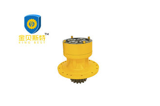 R305-7 R210 R130 Hydraulic Swing Motor With Travel Gearbox Yellow Color