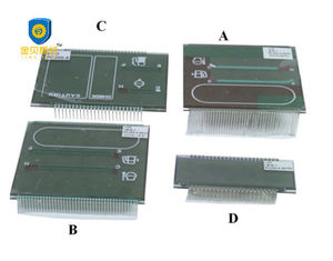 China SK200-3/5 Excavator Replacement Parts LCD Display With Controller Board supplier